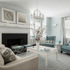 Gray Blue Living Room Dark Sectional Ideas