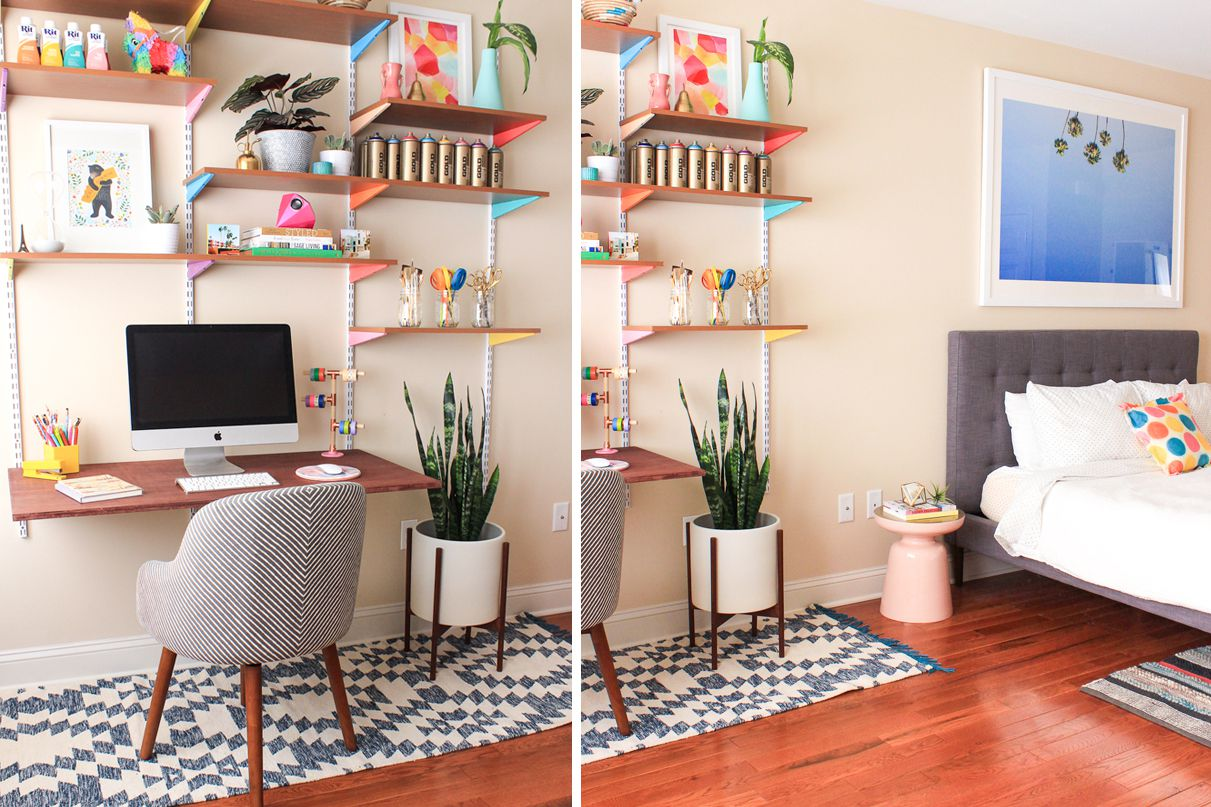 living room desk design with wood stove 27 surprisingly stylish small home office ideas
