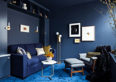 living room colors cottage themed 20 gorgeous color schemes for every taste monochromatic blue scheme