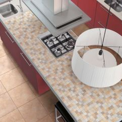 Kitchen Island Counter Ikea Base Cabinets 11 Tile Ideas For Kitchens And Baths