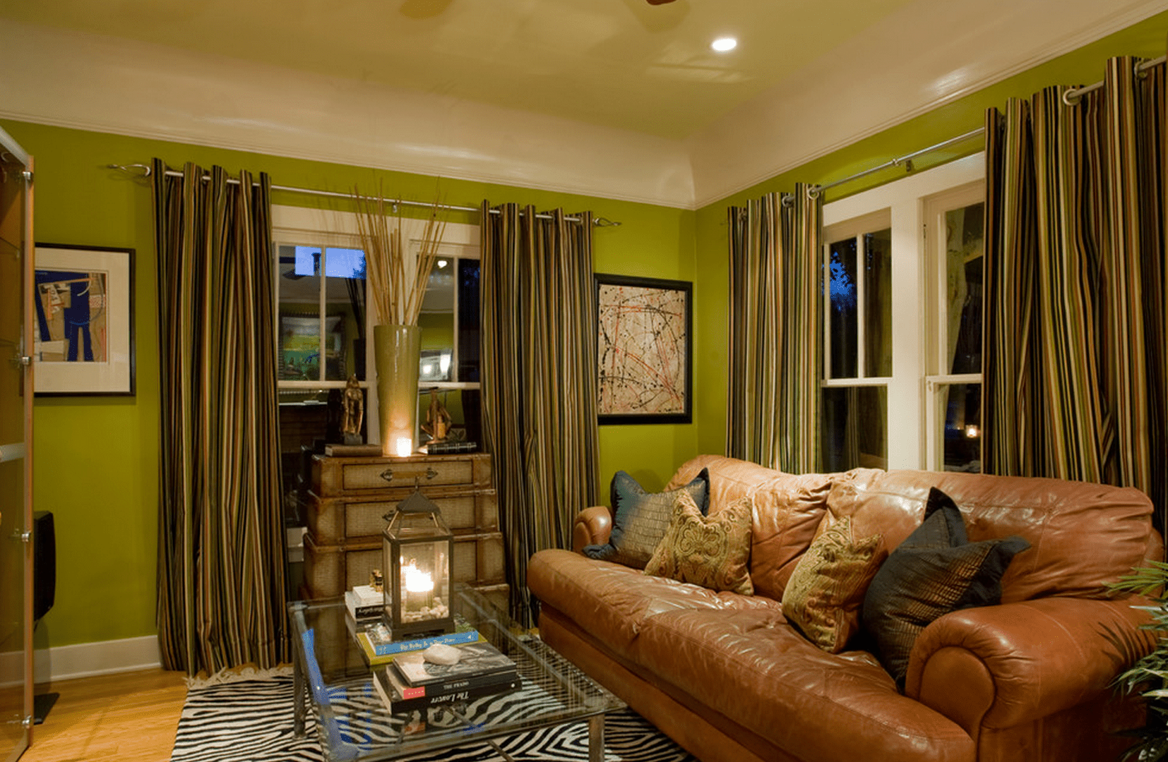 green living room walls design small space ideas