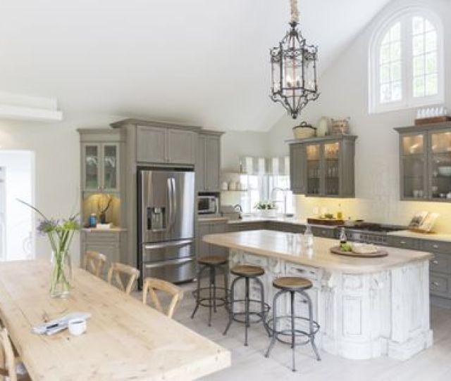 Gray Kitchen Color Scheme Decorating