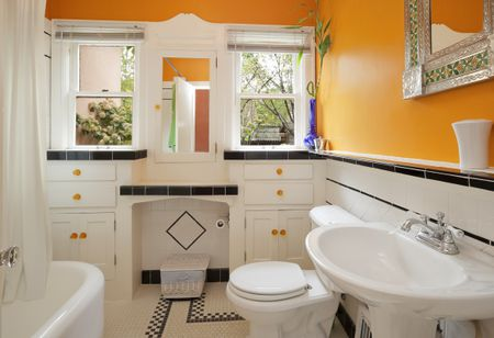bathroom paint colors to