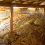 How To Fix Water Problems In The Crawl Space