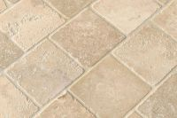 Travertine Tile Finishes and Edge Treatments