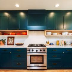 Colors Of Kitchen Cabinets Shelf Organizers 26 Paint Ideas You Can Easily Copy Teal That Change Color With Light