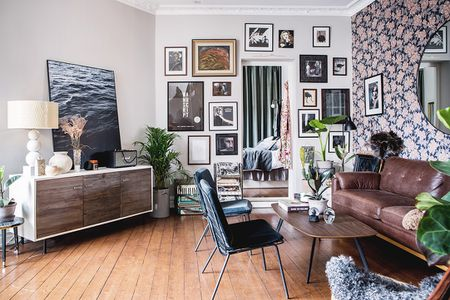 nice decoration for living room sage green and brown ideas how to decorate a small in 17 ways oddly shaped with gallery wall
