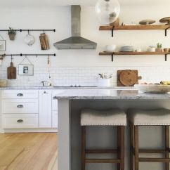 Wood Shelves Kitchen Antique Red Cabinets 10 Beautiful Open Shelving Ideas In A