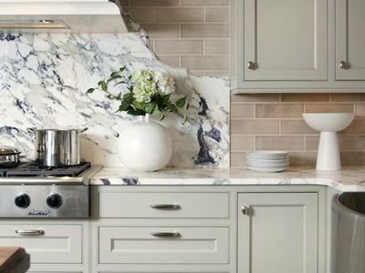 tin kitchen backsplash hutch for the best materials applications that demand attention backsplashes