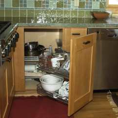Kitchen Corner Cabinet Storage Organizers Increase The Functionality Of Your Blind Magic Solution