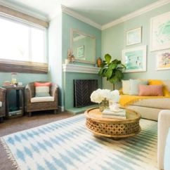 Wall Color Combination For Living Room Yellow Ideas 20 Gorgeous Schemes Every Taste Coastal Scheme In Condo Apartment