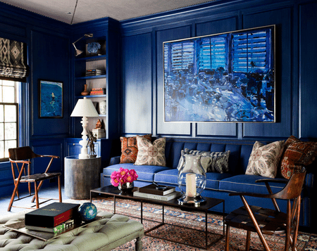 small living room ideas blue french country decor