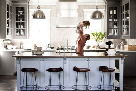 how to renovate a kitchen crown molding for cabinets remodeling overview mother lifting daughter in