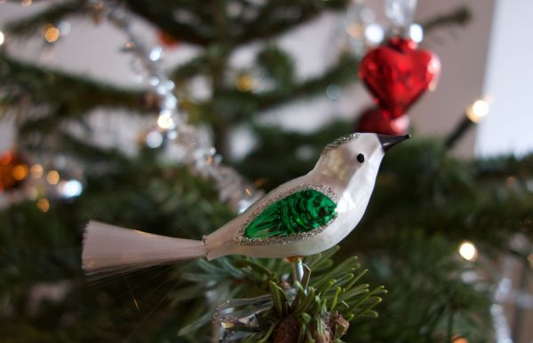 German Bride Tree Christmas Ornaments