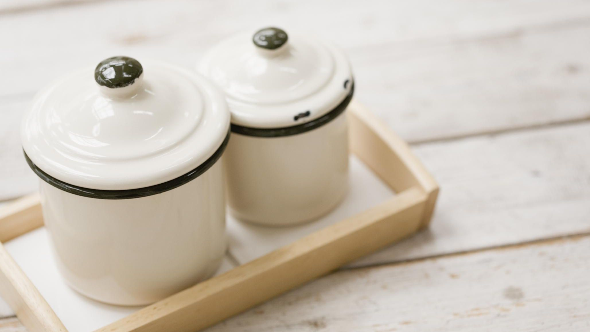 to refurbish and personalize old canisters