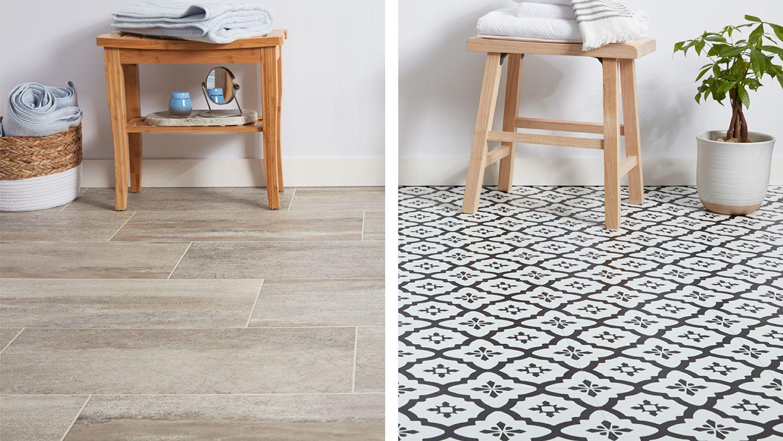 sheet vinyl vs vinyl tile flooring
