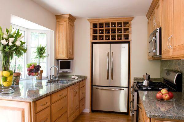 home kitchen design A Small House Tour: Smart Small Kitchen Design Ideas