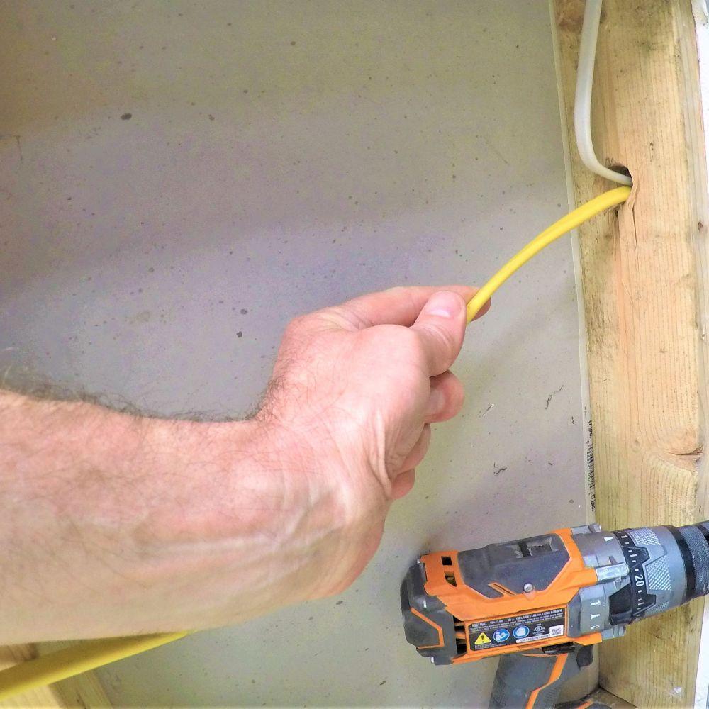 medium resolution of finished garage wiring