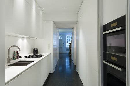 kitchen layout ideas commercial supply corridor style layouts 3