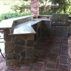 Outdoor Kitchen Bar Ceiling Light Fixtures Pictures And Ideas With Angled Flagstone