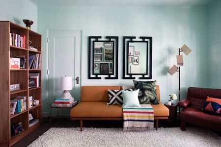retro style living room furniture big couches small 28 ways to add your decor midcentury inspired la