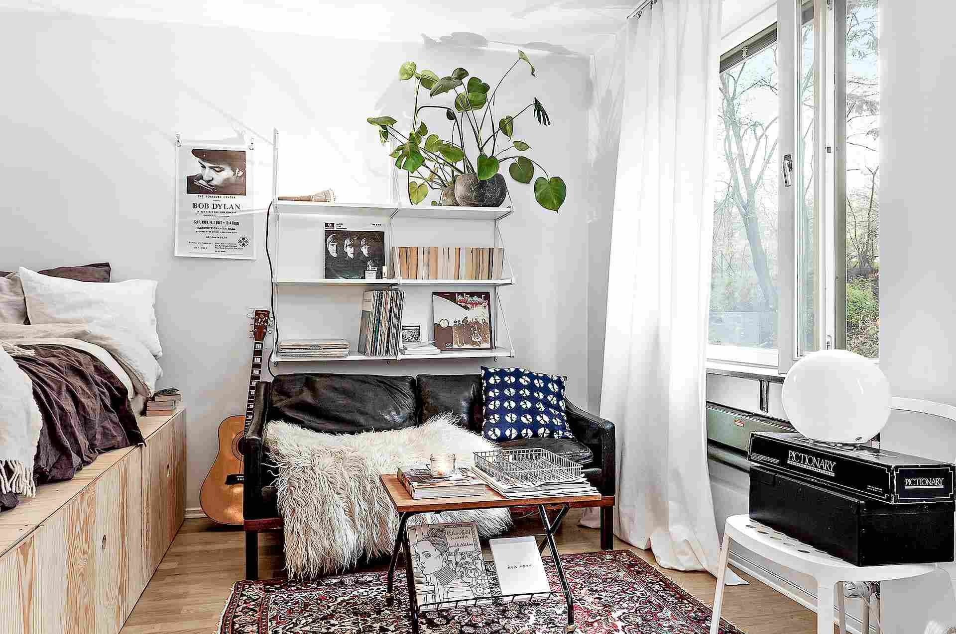 living room bed sofa and 2 chairs 25 ways to create a bedroom in studio apartment