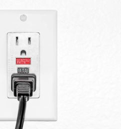 safety gfci protected dual electrical outlet black power plug [ 2121 x 1414 Pixel ]