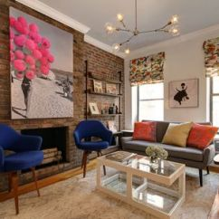 Small Living Room Ideas With Brick Fireplace Unusual Wallpaper 32 Ways To Refresh A One Bedroom Apartment