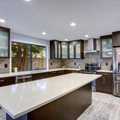 Kitchen Countertops Quartz Redoing Countertop Brands Comparison Guide Updated Contemporary Room Interior In White And Dark Tones