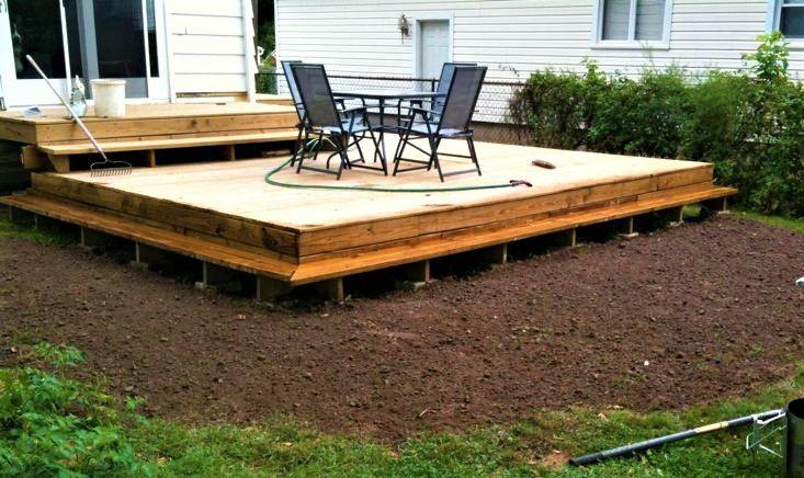 10 beautiful easy diy backyard decks