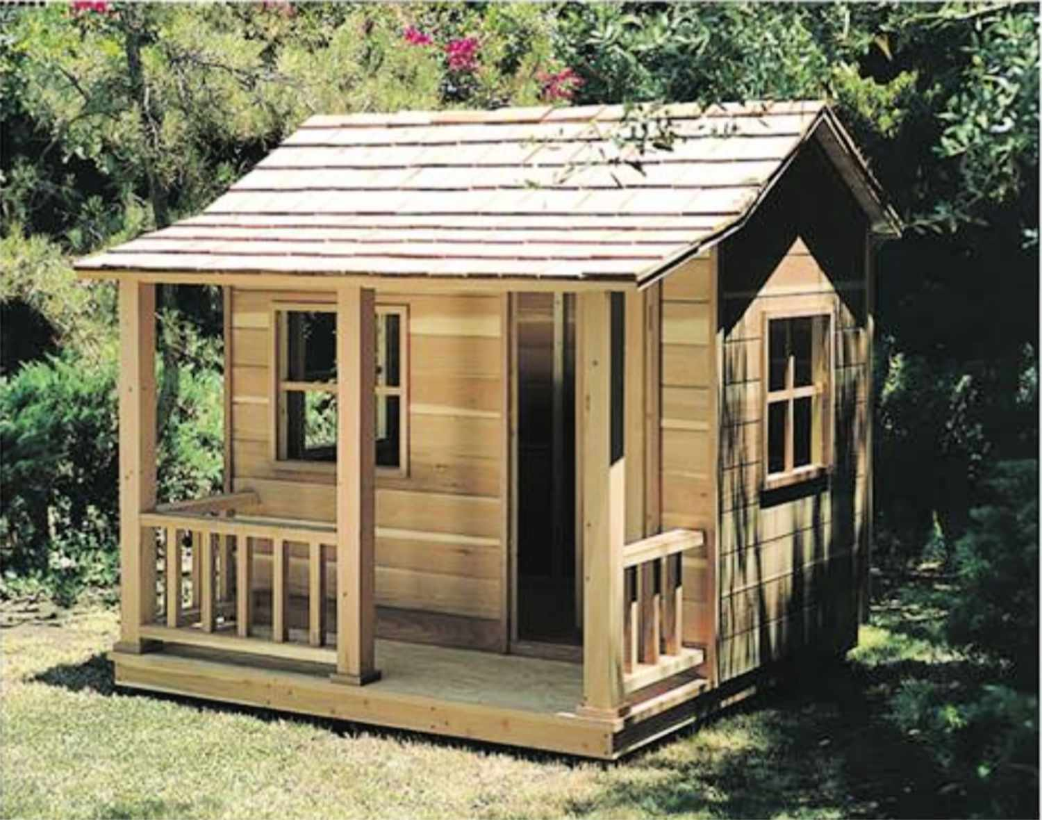 16 Free Backyard Playhouse Plans for Kids