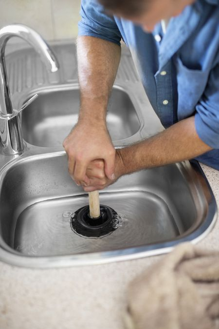 kitchen drain backsplash three simple ways to unclog a sink plumber unclogging