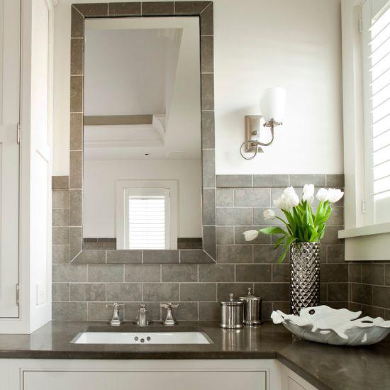 23 ideas for beautiful gray bathrooms