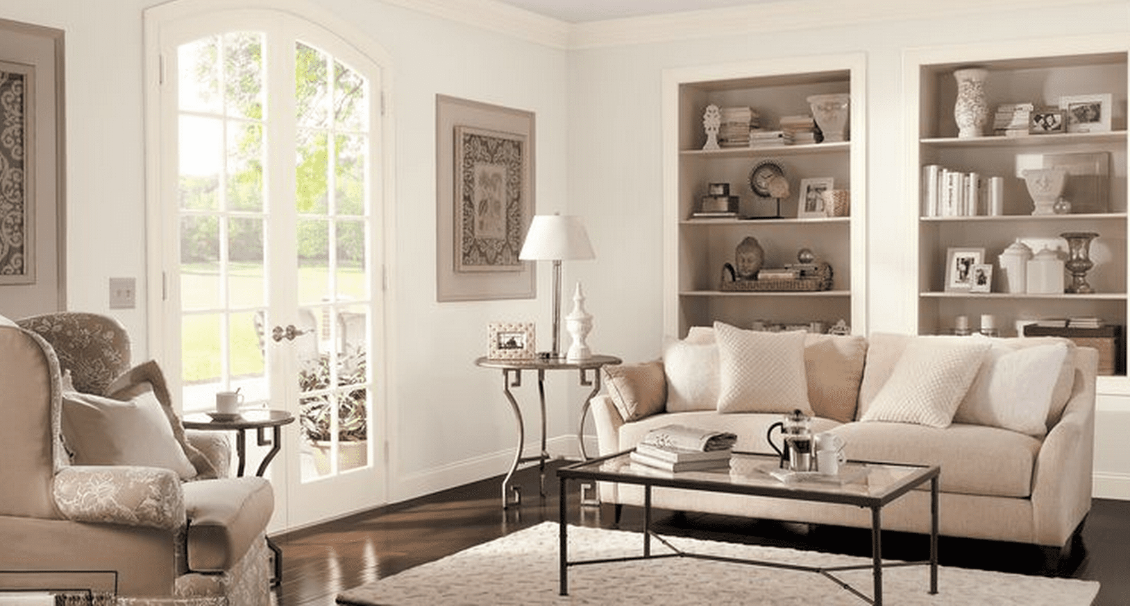 best paint color for living room with brown furniture inexpensive the 6 behr paints family rooms