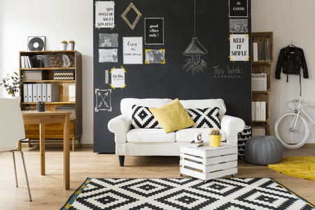 wall painting living room modern ideas south africa 16 rooms with accent walls chalkboard paint