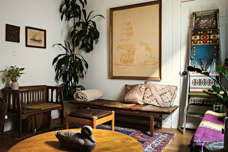mixing furniture styles living room arranging in small with french doors tips for wood finishes your home decor