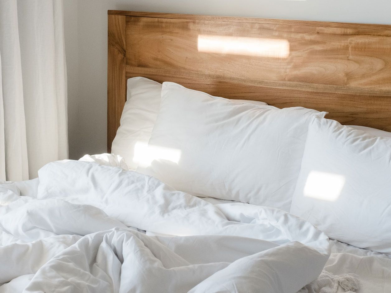 down comforter or blanket
