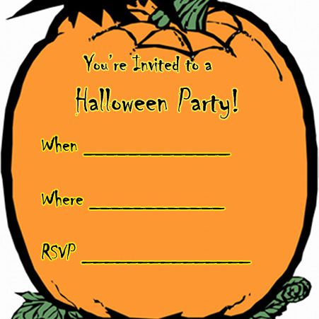 17 free halloween invitations to print