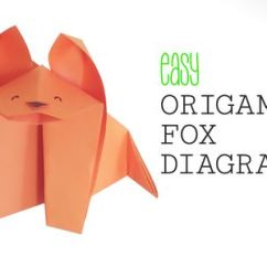 Diagram Origami Bracelet Remote Start Wiring Beginner Projects How To Make An Easy Fox