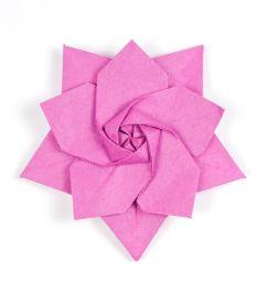3d origami fox diagram [ 1920 x 1280 Pixel ]