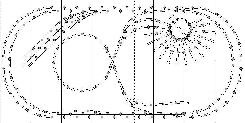 Ideas for 4'x8' Model Railroad Layouts