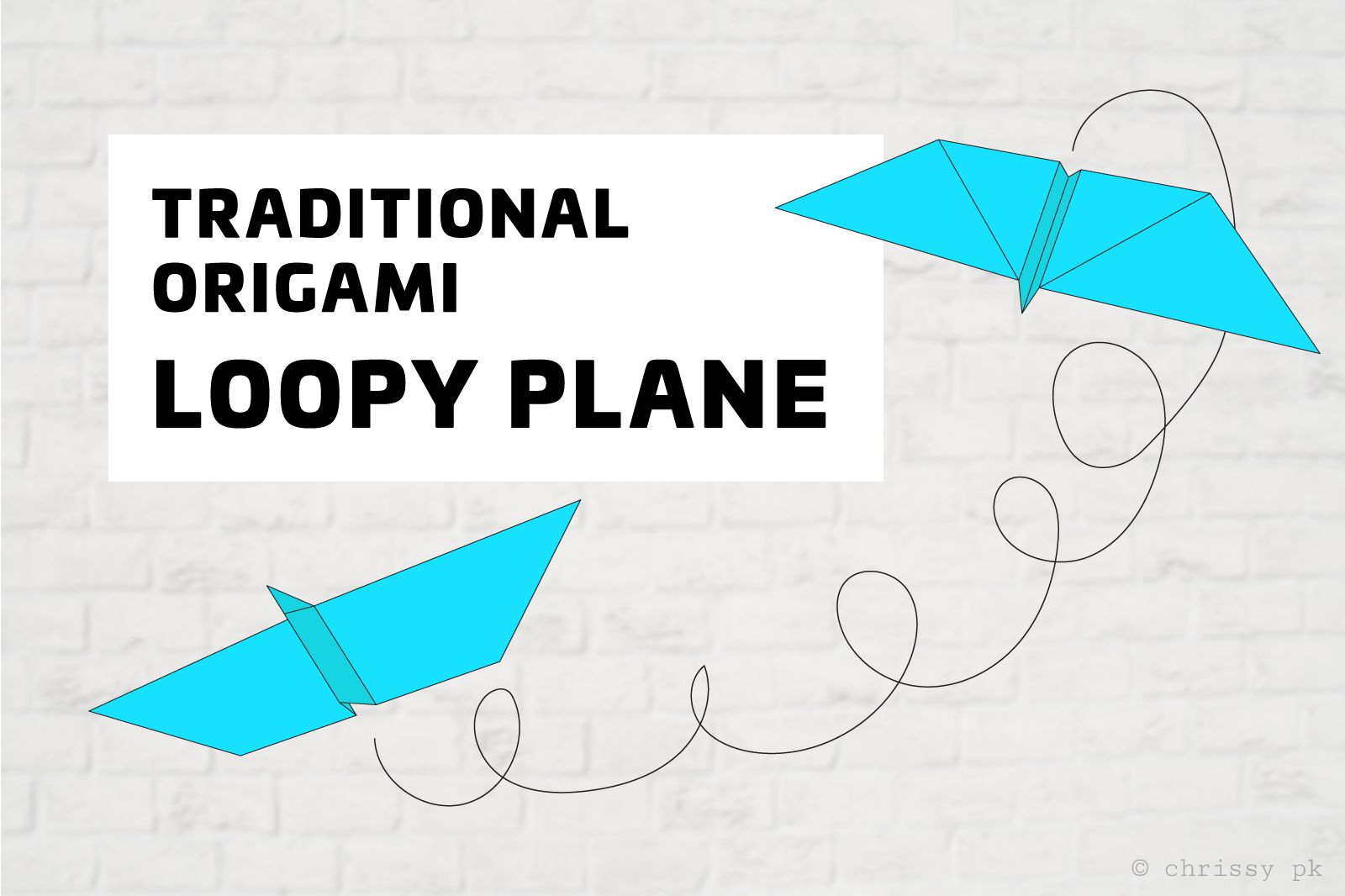 cool paper plane diagram electrical wiring for car loopy origami tutorial