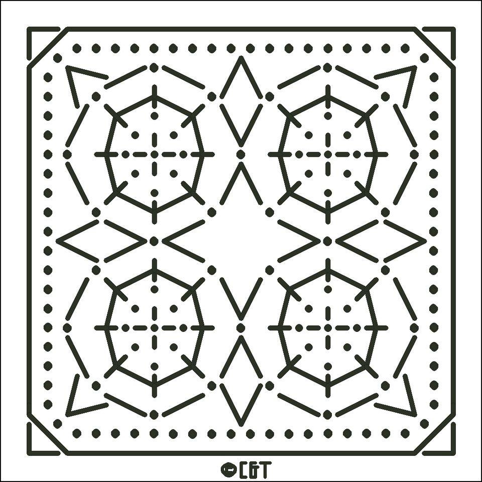 Try a New Stitch: Free Candlwicking Patterns