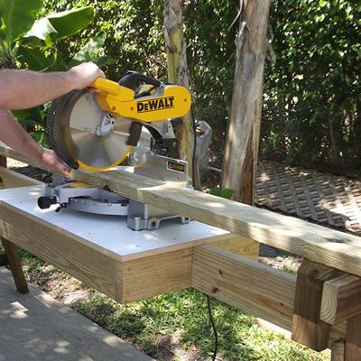 Miter Saw Cabinet Plans Woodworking