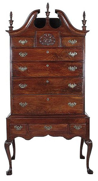 queen anne bedroom furniture Examples of Queen Anne Style Antique Furniture