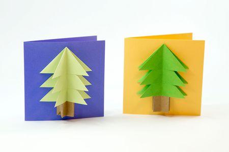 Paper Folding Christmas Decorations