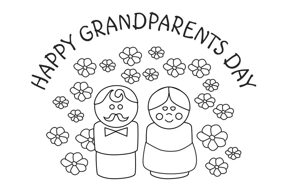 9 Free, Printable Grandparent's Day Cards