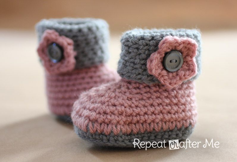 crochet baby booties diagram ladder definition 15 adorable bootie patterns