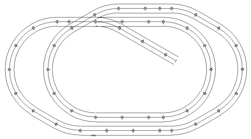 Model Railroad Track Plans