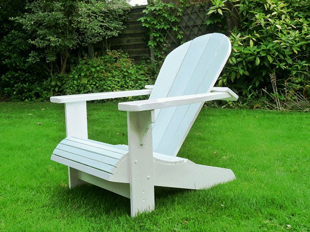 adirondack chair plan pico folding canada 19 free plans you can diy today a white out in the yard